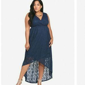 TORRID lace dress size 4